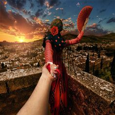 Photographer takes his Girl Around the World Part 2