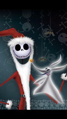 Halloween Christmas, Halloween Town, Christmas Pictures, Christmas Art, Xmas, Disney Images, Disney Art, Jack Skellington Santa, Nightmare Before Christmas Drawings