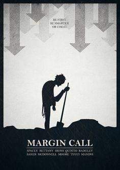 Margin Call (2011) ~ Minimal Movie poster by Mads Svanegaard #amusementphile