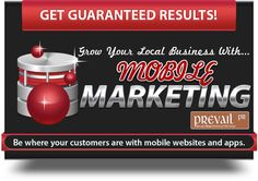 Mobile marketing - be where your customers are with mobile websites and applications.