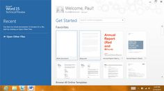 The next version of Microsoft Office goes Metro!