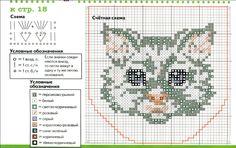 вышивка крестом кошки в кармане: 14 тыс изображений найдено в Яндекс.Картинках