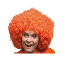 Deze mega pruik is voor een echte Oranje fans onmisbaar voor een te gek oranje feestje. Je creëert je eigen unieke oranje look met deze mooie mega oranje pruik.