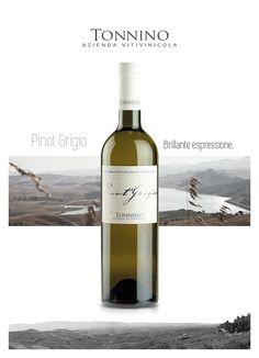 "Pinot Grigio, White wine - I.G.P. ""Terre Siciliane"""