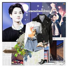 Celebration~ by rainie-minnie on Polyvore featuring mode, Givenchy, Band of Outsiders, Converse, claire's, NYX, Chanel, Michael Kors and Shin Choi