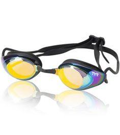 3b11d3c0f8ac TYR Black Hawk Racing Mirrored Performance Goggle