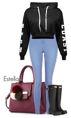 Sem título #35 by louisefer on Polyvore featuring beleza, New Look and Hunter