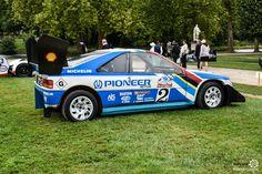 Peugeot 405 T16 à Chantilly Arts et Elegance #MoteuràSouvenirs Reportage :  http://newsdanciennes.com/2016/09/05/chantilly-arts-et-elegance-2016-creme-creme/ #ClassicCar #VintageCar #Voiture #Ancienne