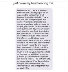 You make a choice to love, you make a choice to forgive Real Quotes, Fact Quotes, Mood Quotes, Life Quotes, Im Sorry Quotes, Deep Texts, Sad Texts, Relationship Texts, Lonely Quotes Relationship