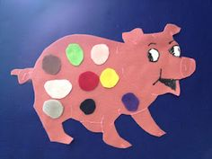 Libraryland: Flannel Friday-I Know a Wee Piggy #pigs