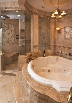 Dream bathroom designs traditional bathroom design pictures remodel decor and ideas page 5 decorating in house . Luxury Master Bathrooms, Dream Bathrooms, Dream Rooms, Beautiful Bathrooms, Luxurious Bathrooms, Master Baths, Romantic Bathrooms, Master Shower, Master Suite
