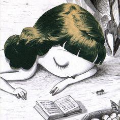 Sensibilidad lectora (ilustración de Gustavo Aimar)