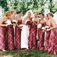 Plaid Wedding Dress Scottish Dresses For Christmas Just Say No Pinterest Tartan And