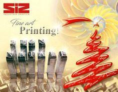 SIZ Industria Grafica e il suo staff augurano a tutti un sereno Natale e un felice Anno Nuovo