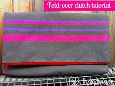 Fab: Fold-over Clutch Tutorial