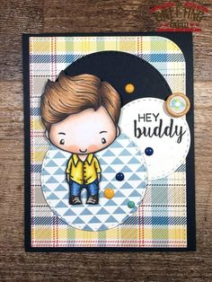 MARCH RELEASE PREVIEW DAY 3: BUDDY IAN : The Greeting Farm – Clear Stamps, Rubber Stamps, Cardmaking USA