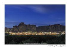 Kalampaka city & Meteora - null