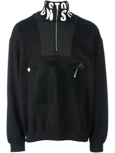 Christopher Shannon patch pocket sweatshirt