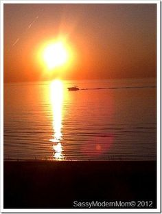 Sunset in Grand Bend Ontario