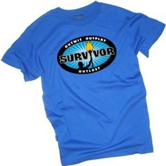 Blue Burst -- Survivor Adult T-Shirt