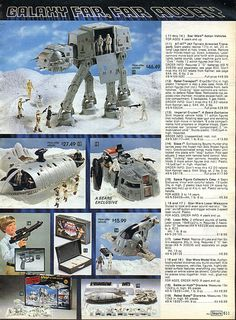 Star Wars Empire Strikes Back 1982-xx-xx Sears Christmas Catalog P611