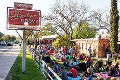 Shady Grove on Barton Springs in Austin, Texas. Image courtesy of Mosak Advertising & Insights