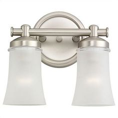 """Sea Gull Lighting SEA-44483BLE-965 Newport ENERGY STAR Two-Light Newport Vanity/Bath by Sea Gull Lighting. $118.00. Sea Gull Lighting 44483BLE-965ENERGY STAR Two-Light Newport Vanity/BathCollection: NewportCategory: Fluorescent Wall/Bath/VanityNumber of Bulbs: 2Dimensions: W:11 1/4with """" H:10 1/4with """" E:6 1/4with """"UL Listing: UL DampcUL Listing: cUL Damp"""