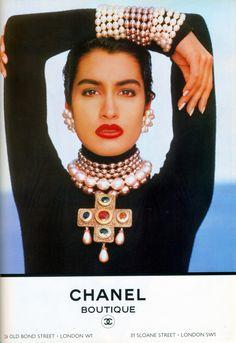 Yasmeen for Chanel, 1990