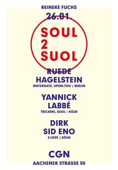 Soul 2 Suol CGN at Reineke Fuchs