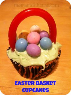 Favorite easter activities to do with the whole family from your a delicious and easy easter basket cupcake recipe negle Gallery