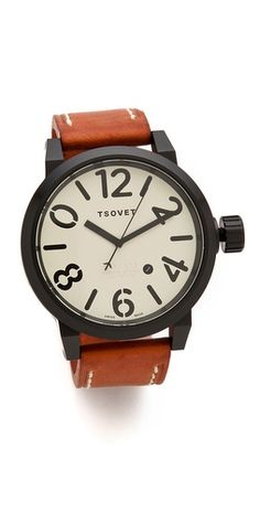 Tsovet LX Oversized Men's Watch | SHOPBOP