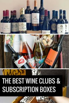 Best Monthly Wine Clubs and Subscription Boxes | Great ideas! I'll have to look into this.