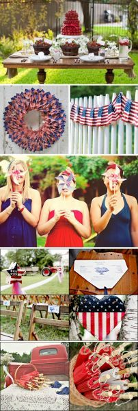 Fourth Of July Wedding Ideas  Ideas For A July 4th Wedding  EHow  EHow  How To Videos