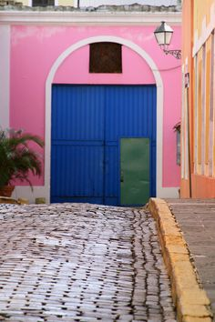 The Colors of Viejo San Juan ~ Puerto Rico by purvins, via Flickr