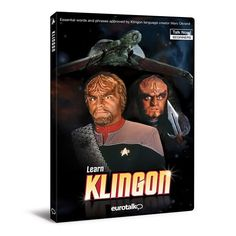 Star Trek Learn Klingon PC Program $28.99
