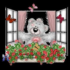 Florynda del Sol ღ☀¨✿ ¸.ღ Anche gli Orsetti hanno un'anima…♥ Animated Cartoons, Animated Gif, Teddy Bear Images, Les Gifs, Blue Nose Friends, Bear Pictures, Glitter Graphics, Tatty Teddy, Gif Animé