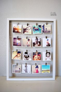 die 73 besten bilder von kreativ mit fotos. Black Bedroom Furniture Sets. Home Design Ideas