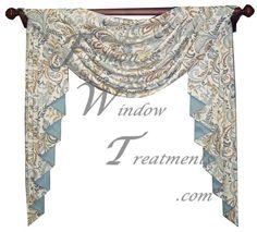 Jabot Valances | Curtains U0026 Blinds | Swag And Jabot Curtains