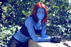 Character: Mystique (Raven Darkhölme) / From: MARVEL Comics 'The Uncanny X-Men' & Fox Films 'X-Men' / Cosplayer: Irene Kuroi (aka symphonyckuroi)
