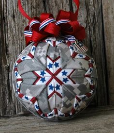 miniature patriotic ornaments | Military Army Digital Camo Fabric Patriotic Stars & Stripes Quilted ...