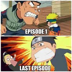 Naruto and iruka ❤