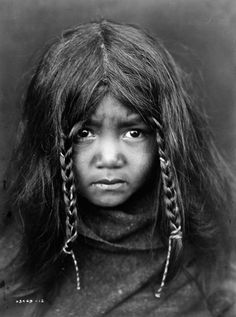 North American Indians | Quilcene boy | ©Edward S. Curtis, 1913