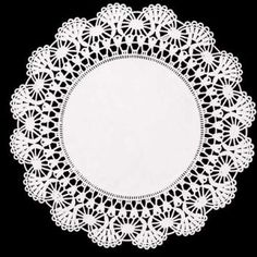 Paper Lace 12-inch Doilies, White, 50 pack US$5.99