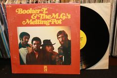 "Booker T And The MGs ""Melting Pot"" Original 1971 LP Stax Records (R Soul Vinyl Record)"