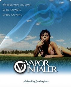 "Vapor Inhaler: The CANNAcig featured last night on CBS ""Marijuana Moms"""