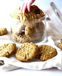 flourless peanut butter cookies 7 adjusted