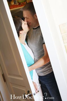 Keep the spark HOT!  The kissing closet.  Really great advice from a couple that's been married 18 years.