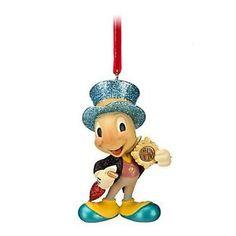 Disney-2012-Gift-Sketchbook-Pinocchio-JIMINY-CRICKET-CHRISTMAS-TREE-ORNAMENT