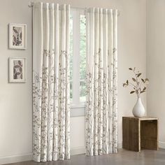 Madison Park Aramo 84 inch Curtain Panel - Overstock Shopping - Great Deals on Madison Park Curtains Window Panels, Window Coverings, Window Treatments, Curtain Panels, Tab Curtains, Blackout Curtains, Satin Curtains, Curtains Kohls, Scarf Curtains