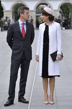 Crown Prince Frederik & Mary, Crown Princess of Denmark
